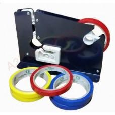 Tape Dispenser ( E7R Blue ) Bag Sealer For 9mm Tape