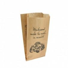 Paper Bag - Printed Mushroom 170mm x 80mm x 295mm  500/Pack
