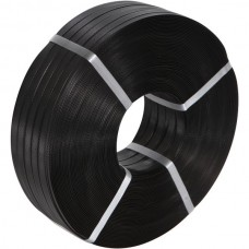 Strapping Hand Roll Black 19mm x 1000m H/Duty PP 330KG-BS