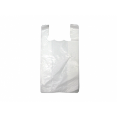 Bin Liner - Small White with Handles 1000/Pack 2000/Carton