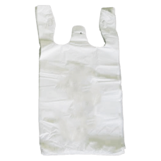 Bin Liner - Large White with Handles 1000/Pack 2000/Carton
