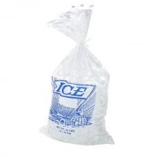 Party Ice Printed Bag Blue Tint 250mmx500mx70um 1200/Carton