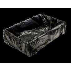 Liner - Black Crate Liner 645 x 370 x 670 +25 500/Carton