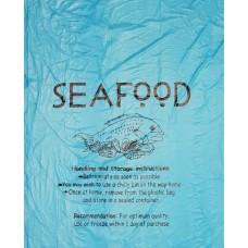 Seafood Ptd Roll Bag ( Large ) 300x150x600 500/Roll 4/Carton