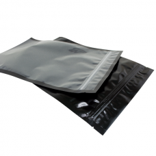 Vacuum Pouch - 165mmx262mm Black/Clear 100/Pack 1000/Carton