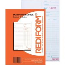 Docket Book ( Multi Purpose Duplicate 8x5 )  5/Pack