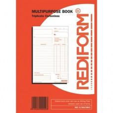 Docket Book ( Multi Purpose Triplicate 8x5 )  5/Pack