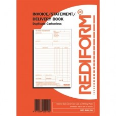 Docket Book ( Inv/Stat/Delivery Duplicate 8x5 ) 5/Pack
