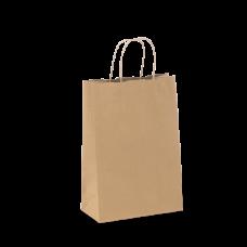 Carry Bag - Paper Twist Handle Med 320x280x150mm 200/Ctn